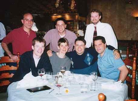 31 dinner at mpa 2001